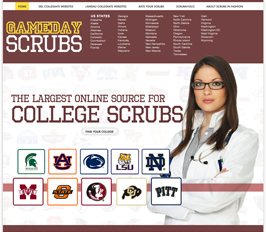 Collegiate Scrubs, Unisex Scrubs, Womens Scrubs, Scrub Tops, Scrubs Pants, Scrub Caps from over 150 colleges
